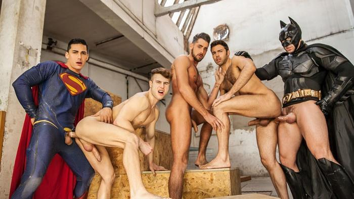 Batman v superman a gay xxx parody part 3