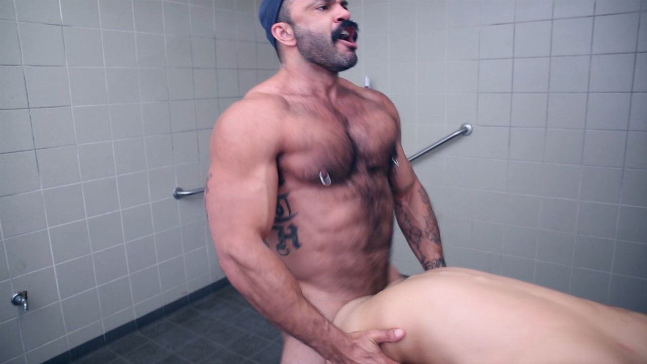 Hot gay guys blowing banging