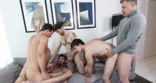 Will Braun, Billy Santoro, Brenden Cage, Dennis West e  JJ Knight - A Hollywood Story Part 3