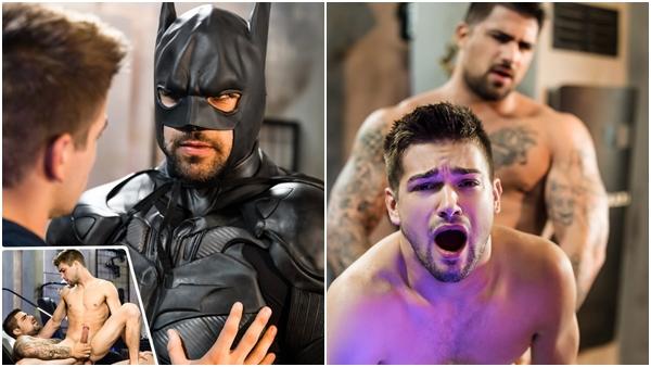 Gay Justice League porno