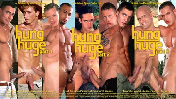 Hung Huge - Trilogia - Filme Gay Completo