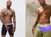 Safaree Samuels, ex de Nicki Minaj, guarda uma anaconda na cueca