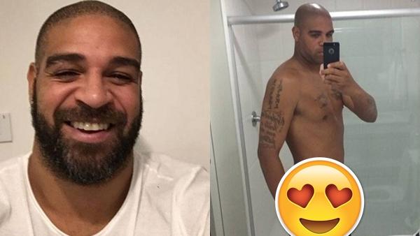 CAIU NA NET - Supostas nudes do jogador Adriano Imperador
