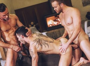 Jackson Radiz and Manuel Skye tag-team Andy Star