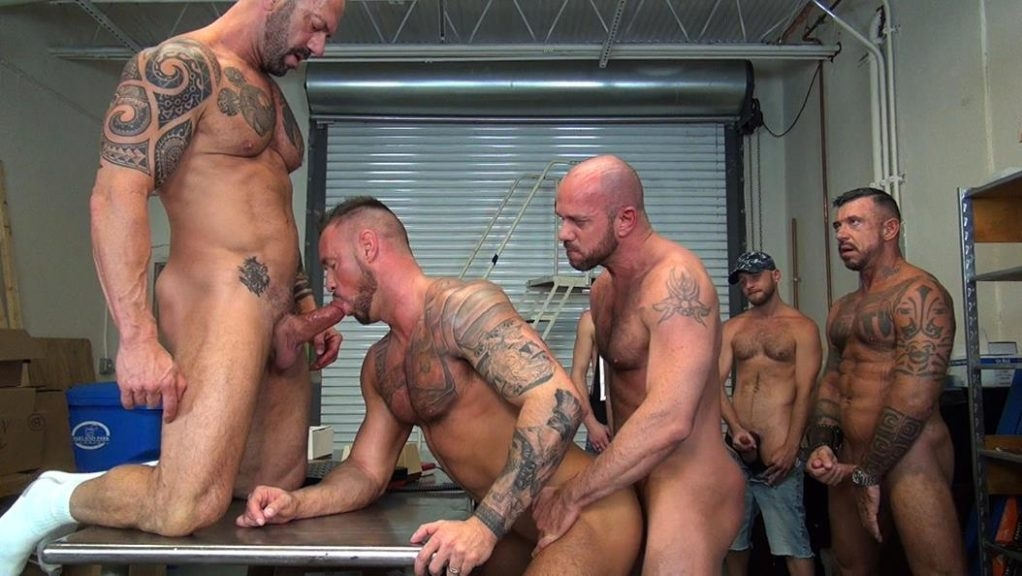 Michael Roman's Gang Bang - Part 1