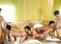 The HEIST, Orgy Finale (Diego Sans, Ken Ott, JJ Knight, Beaux Banks and Dalton Briggs)