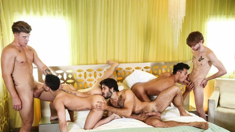 The HEIST, Orgy Finale (Diego Sans, Ken Ott, JJ Knight, Beaux Banks and Dalton Briggs)