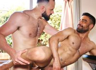 Muscle bottom Wagner Vittoria takes Andy Onassis' fat cock raw at TimTales